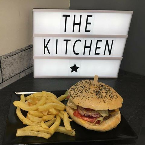 The kitchen original burger